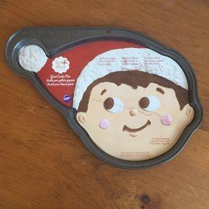 NWT Wilton Elf on the Shelf Giant Cookie Pan